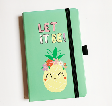 "Mini cuaderno de apuntes ""let it be"""