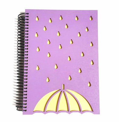 Cuaderno rainy umbrella
