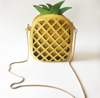 Cartera Shoulderbag en forma de piña
