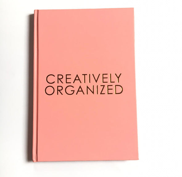 Cuaderno creatively organized