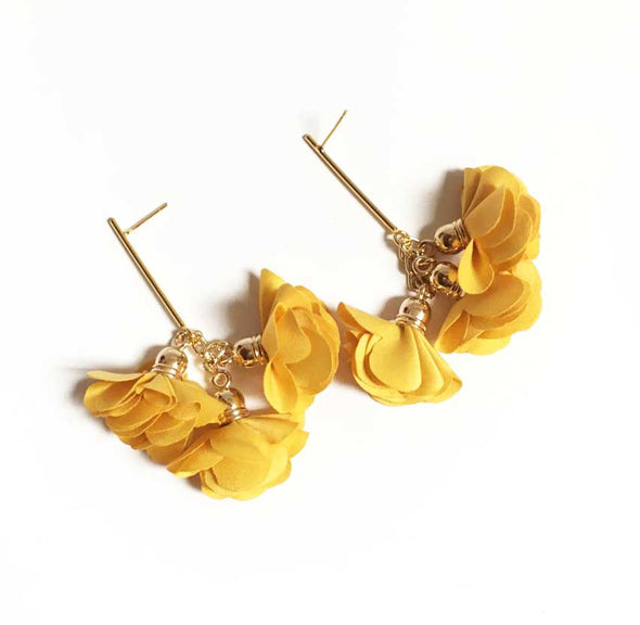 Aretes yellow sunshine