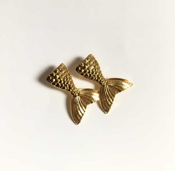 Aretes mermaid tail