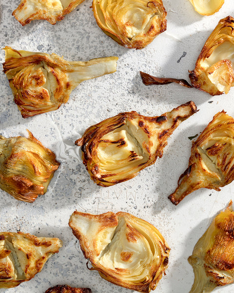 Lunch cookbook artichokes