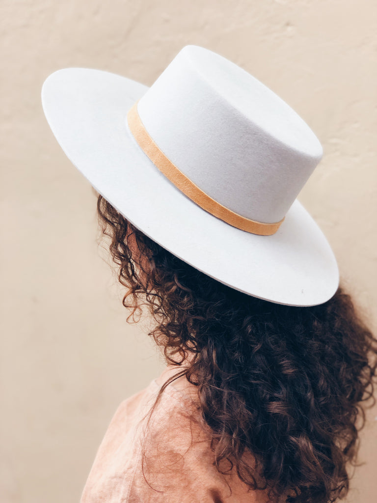 Gaucho Hat - Dove Gray