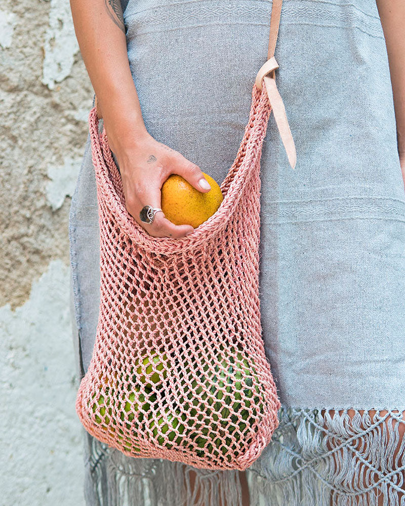 Blush Agave Market Bag