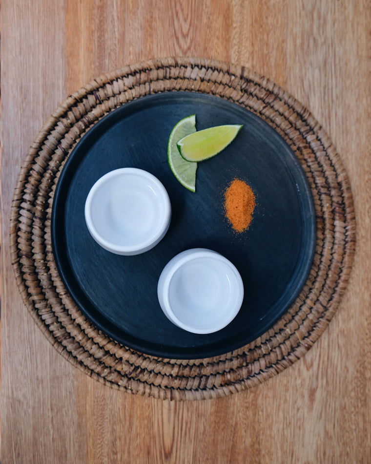 Pair of Mezcal Cups - White