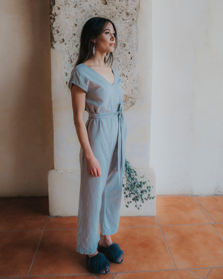 Everyday Jumpsuit - Agave Blue