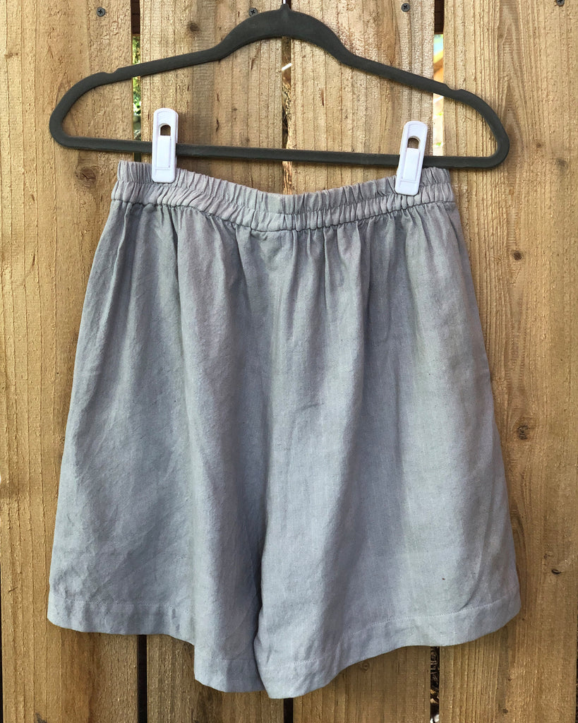 Mom Shorts - Agave Blue
