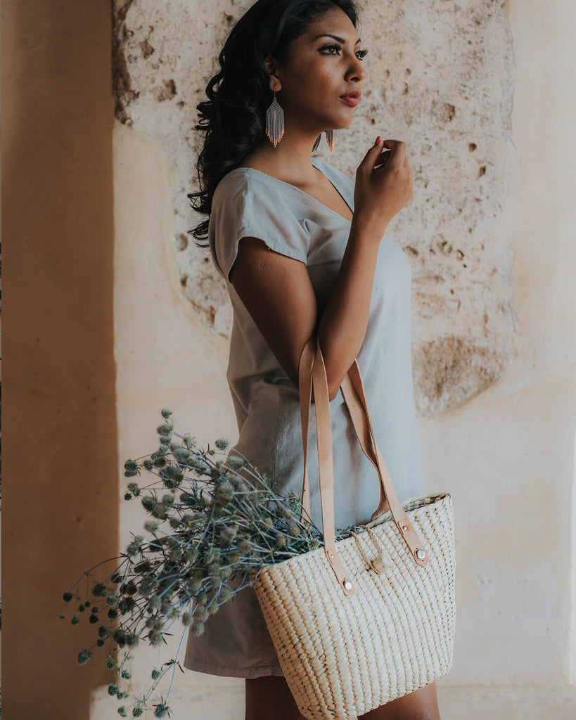 Sweetheart Palm Tote
