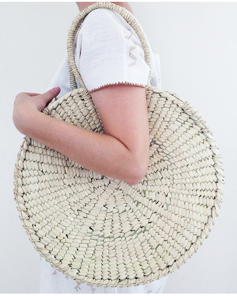 Perfect Circle Palm Tote