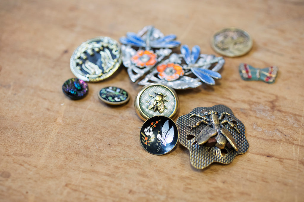 It Starts With The Hunt - Grandmother Buttons Buttonology Blog
