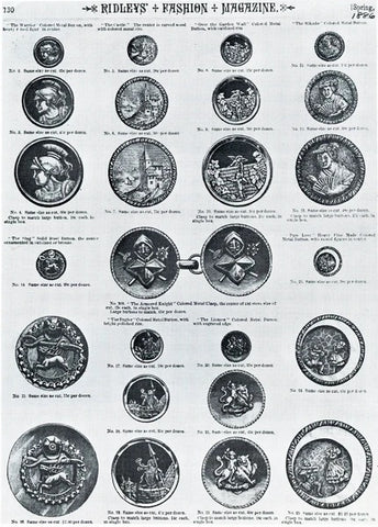Tiny Rebellions, Manly Victorian Women's Buttons - Buttonology Blog
