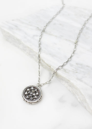 Janus Necklace in Silver
