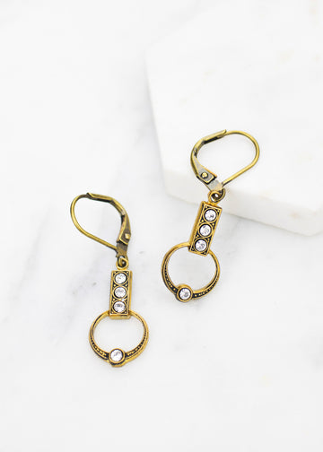 Art Deco Drop Earrings