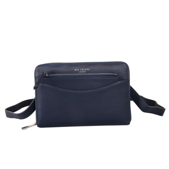Navy Pouch Purse