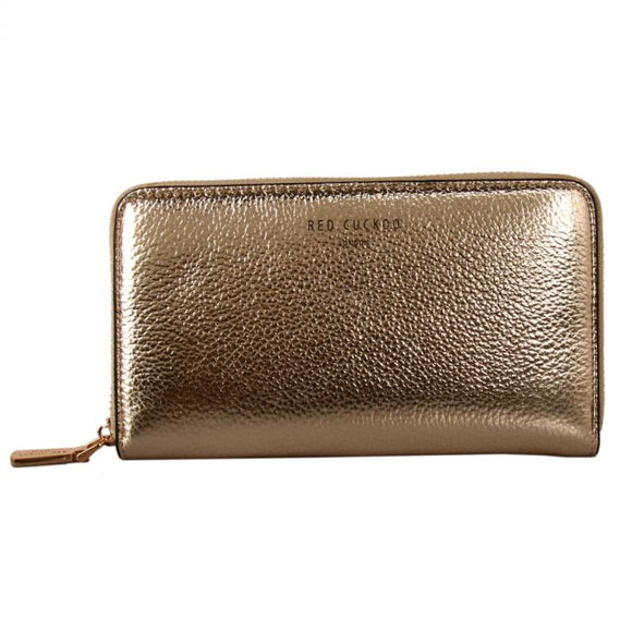 GOLD - Gold Metallic Purse