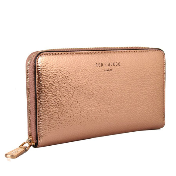 ROSE GOLD - Rose Gold Metallic Purse