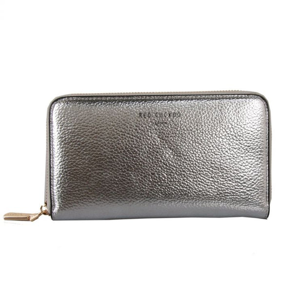 SILVER - Silver Metallic Purse