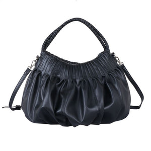 Soft to Touch Shoulder Bag with Braided Strap