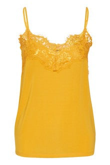 Citrus Lace Vest Top