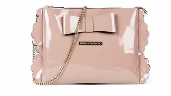 Rinascimento Clutch Bag in Blush