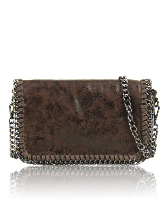 Brown Chain Bag