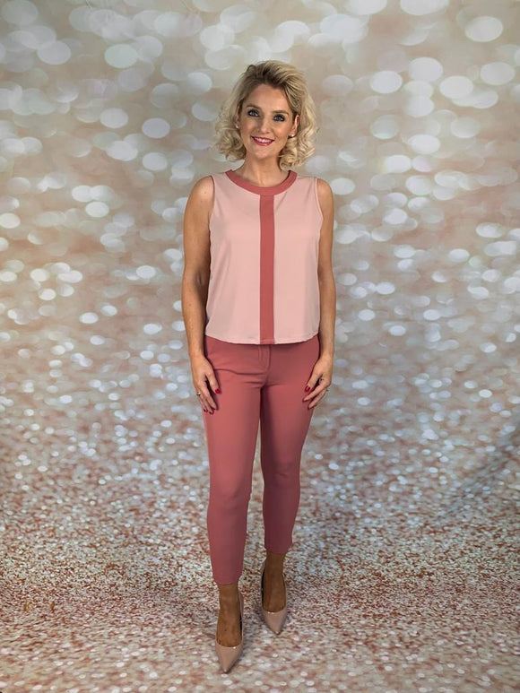 FLYGIRL PINK TROUSERS