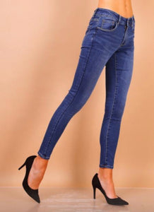 Lighter Denim High Waisted Toxic Jeans