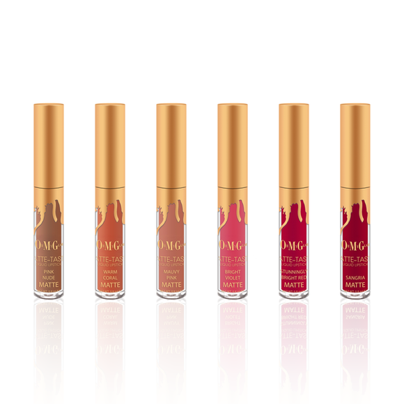 MATTE-TASTIC 6 MINI-MATTE LIQUID LIPSTICKS SET