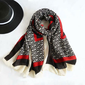 Black/Red /scarf