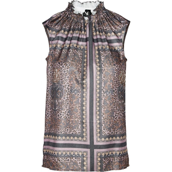 Annece Patterned Top