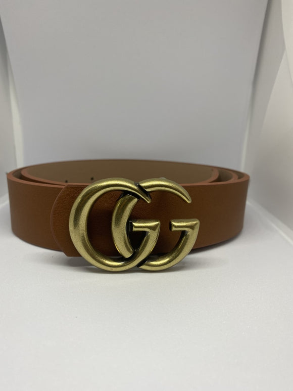 GG Tan Belt