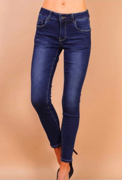 Dark Denim High Waisted Toxic Jeans
