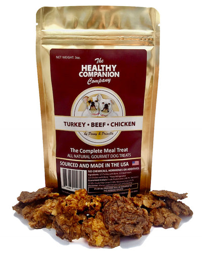 Blend of Turkey-Beef Heart-Chicken Bites