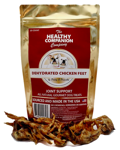 Dehydrated Chicken Feet Dog Treats