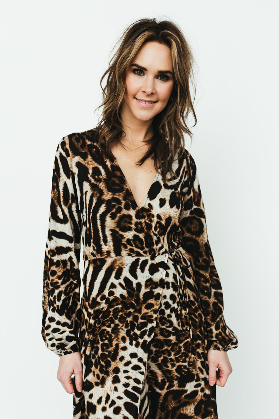 Animal Instinct Dress - Leopard