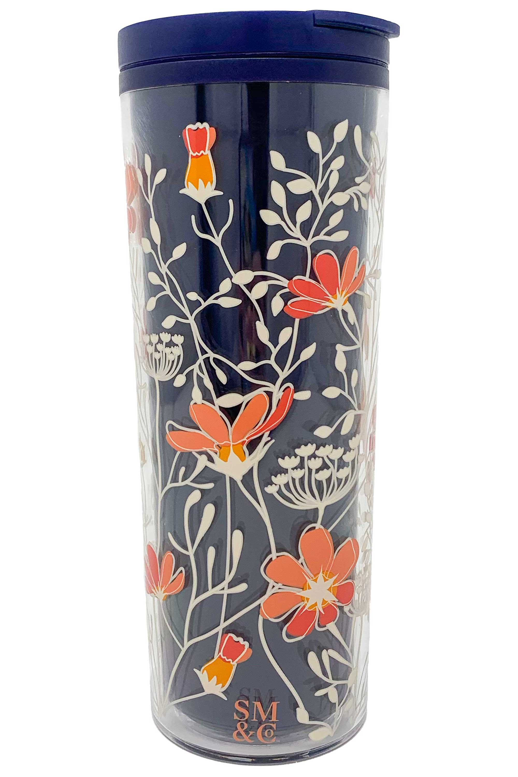 Thermal Mug, Floral Vines