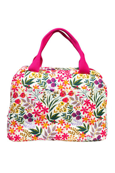 Medium Lunch Tote, Wildflowers