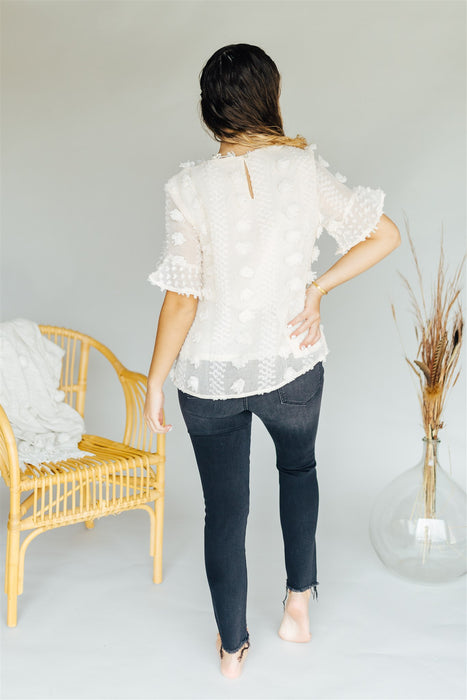 Sheer Genius Top - Natural
