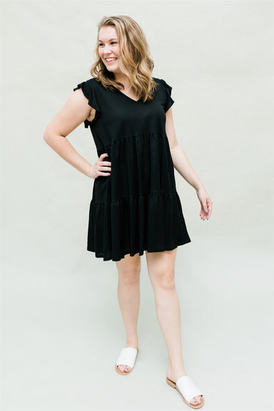 Written In The Stars Dress - Black