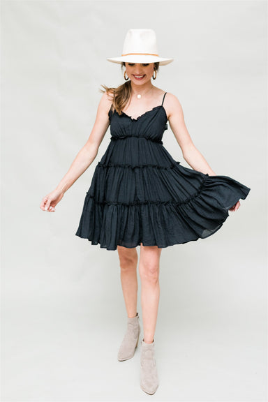 Wanderlust Dress - Black