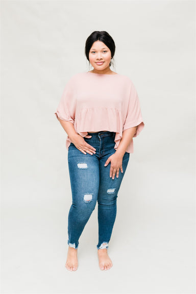 Girl Boss Top - Desert Rose