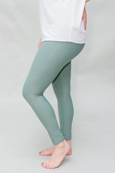 Break a Sweat Leggings - Dark Green
