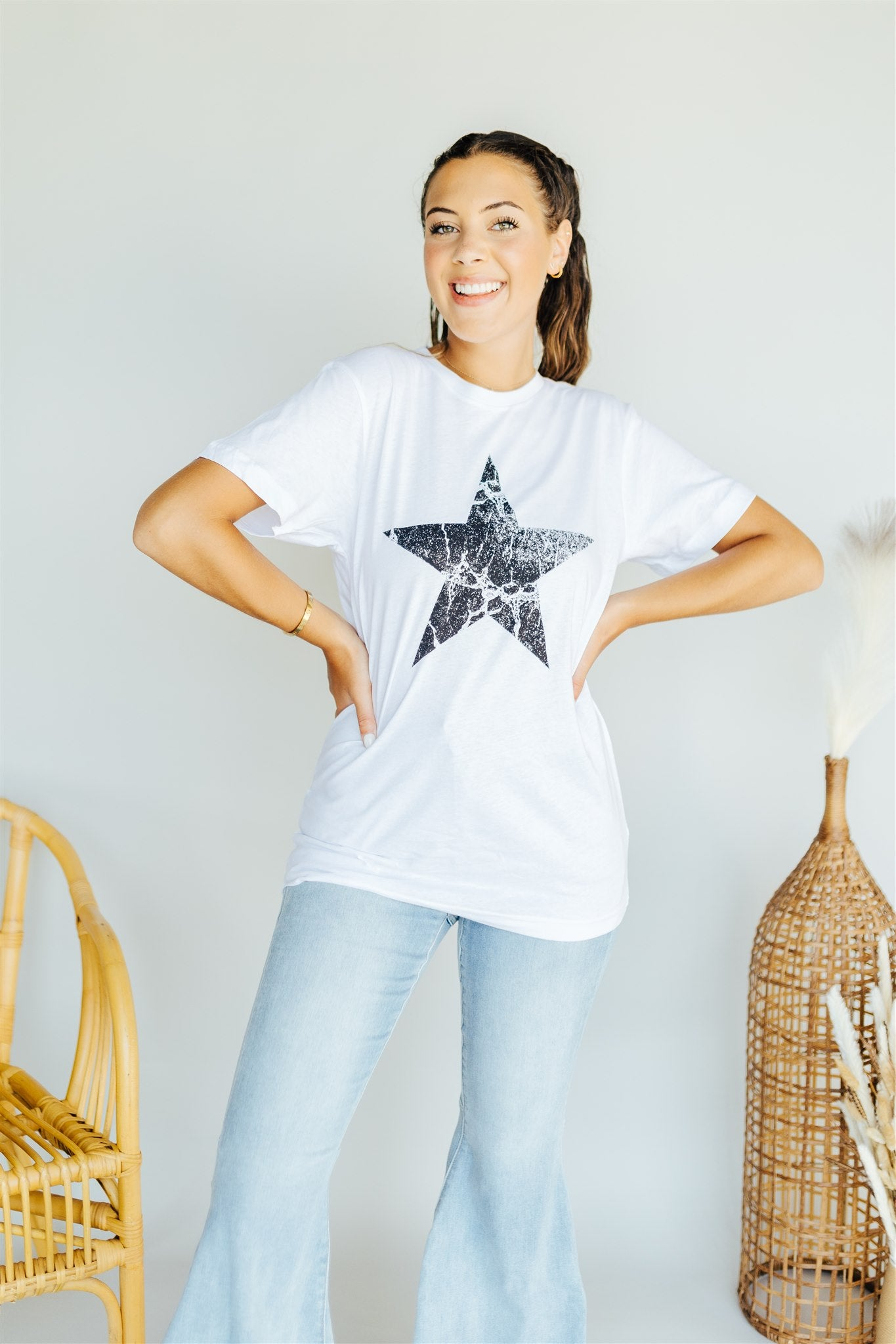 Born to Shine Tee - White