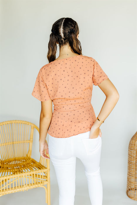 This is Me Blouse - Salmon
