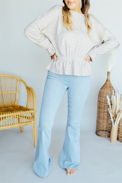 Perfect Knit Top - Taupe