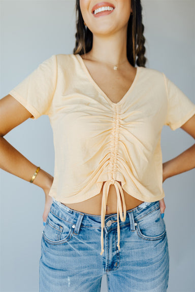 Sunkissed Crop Top - Mango