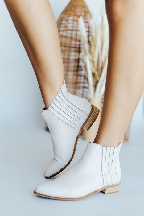 Mattie Bootie - Light Taupe