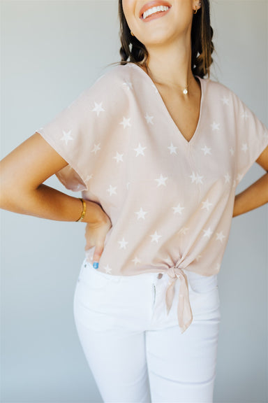 Heart and Soul Top - Dusty Pink
