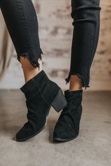 Suede in Heaven Booties
